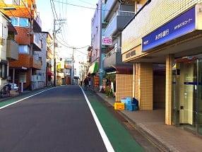 大井町線・緑が丘駅からの道順アクセス02